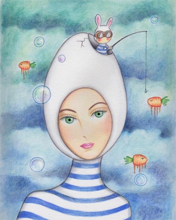Fishing by Carolina Seth