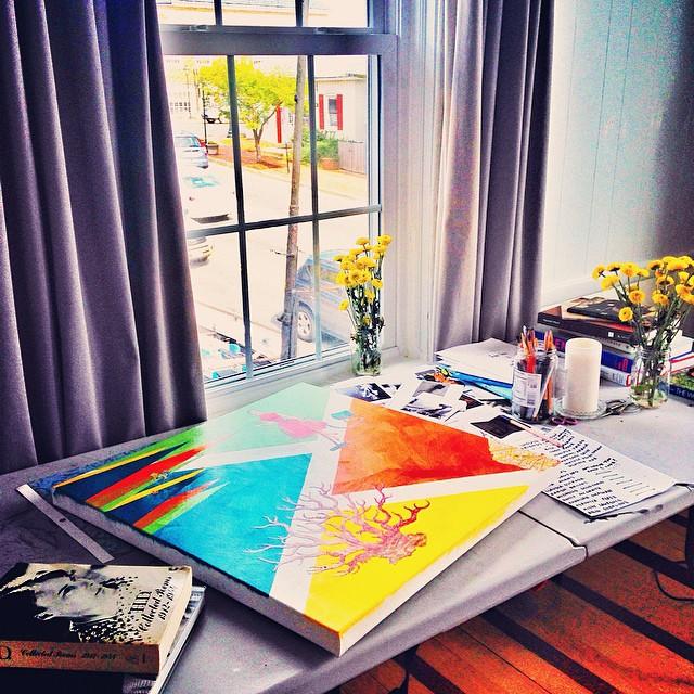 Work in Progress view of Her Pretty Mess by Jessica Kallista