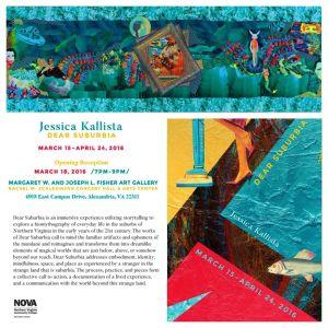 Jessica Kallista Solo Exhibition Dear Suburbia (2)